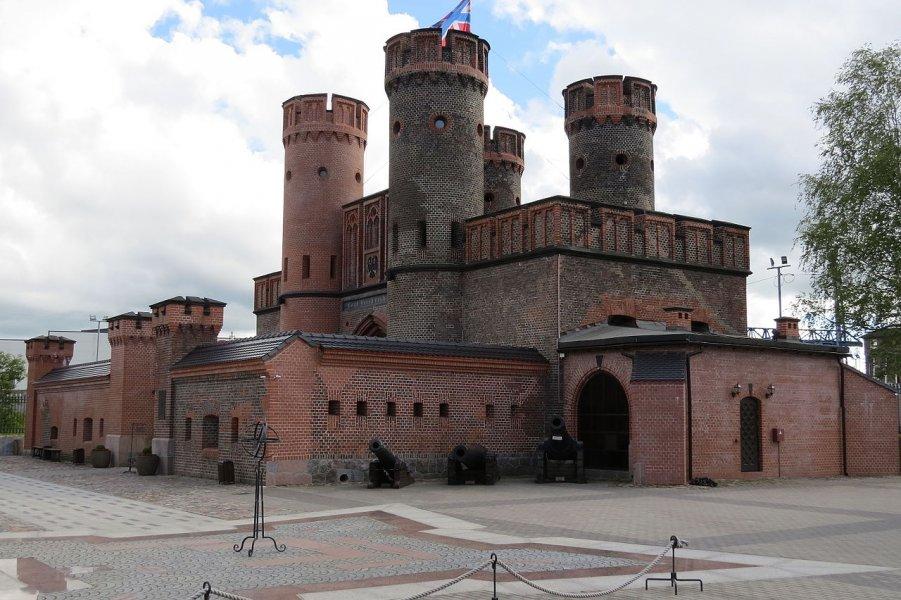 От призрака замка до бункера и от бункера до форта (крепость Кенигсберг)