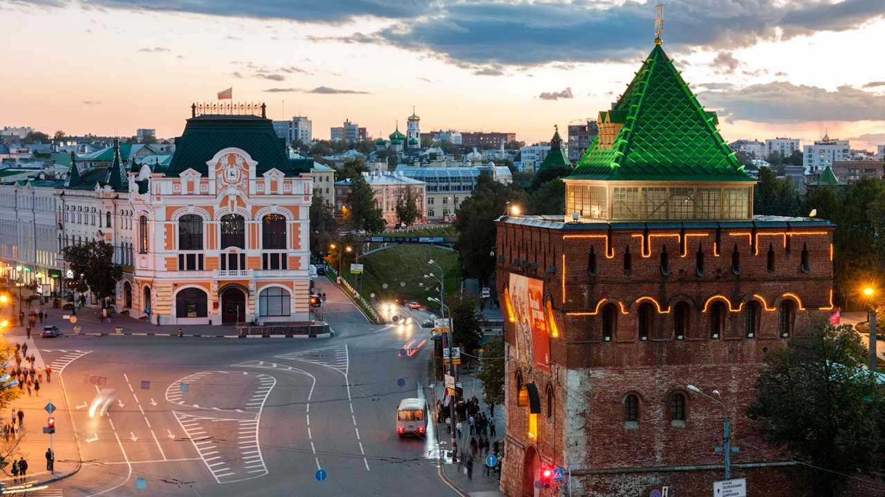 Нижний Новгород - Саранск