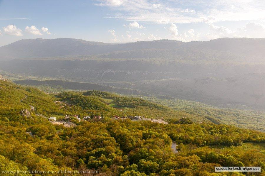 Черногорские святыни: Острог и Цетинский монастырь