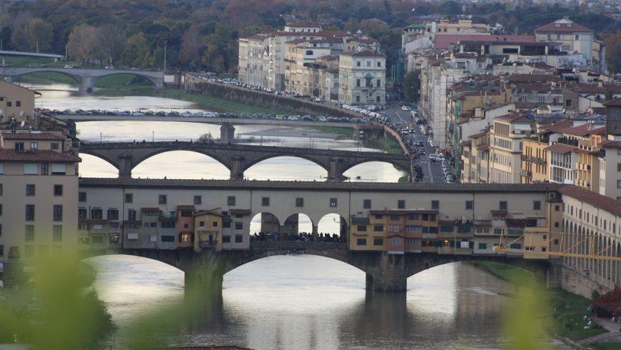 Флоренция как на oткрытке