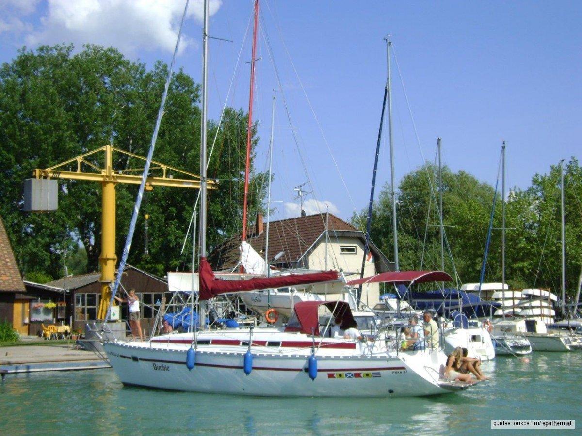 Прогулка на парусной яхте по Балатону