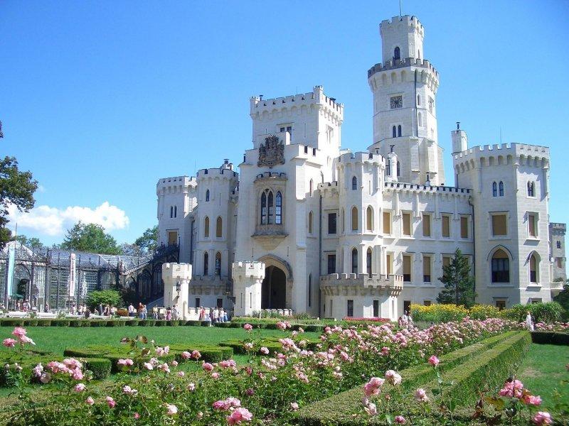Из Праги в замок Глубока-над-Влтавой + город эпохи Возрождения Чески-Крумлов (ЮНЕСКО)
