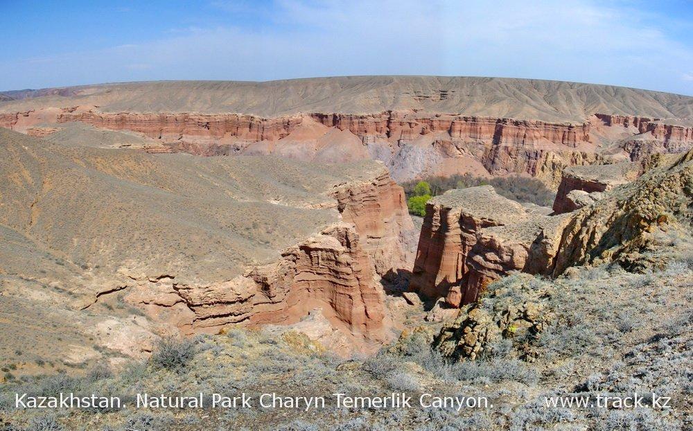 Каньоны Чарынского природного парка
