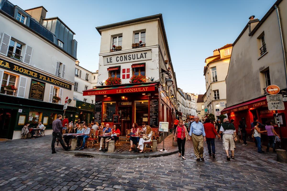 Монмартр — богема Парижа