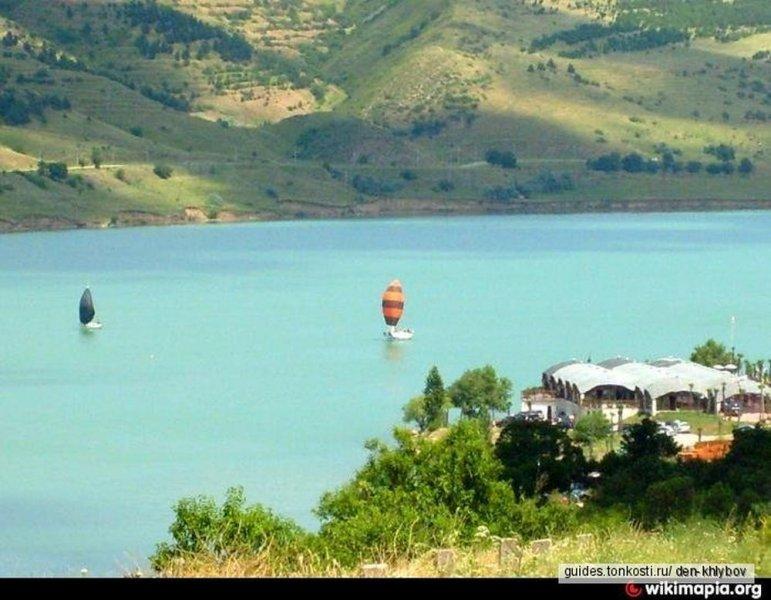 Тбилисские озера и водохранилище! Отдых для любителей освежиться!