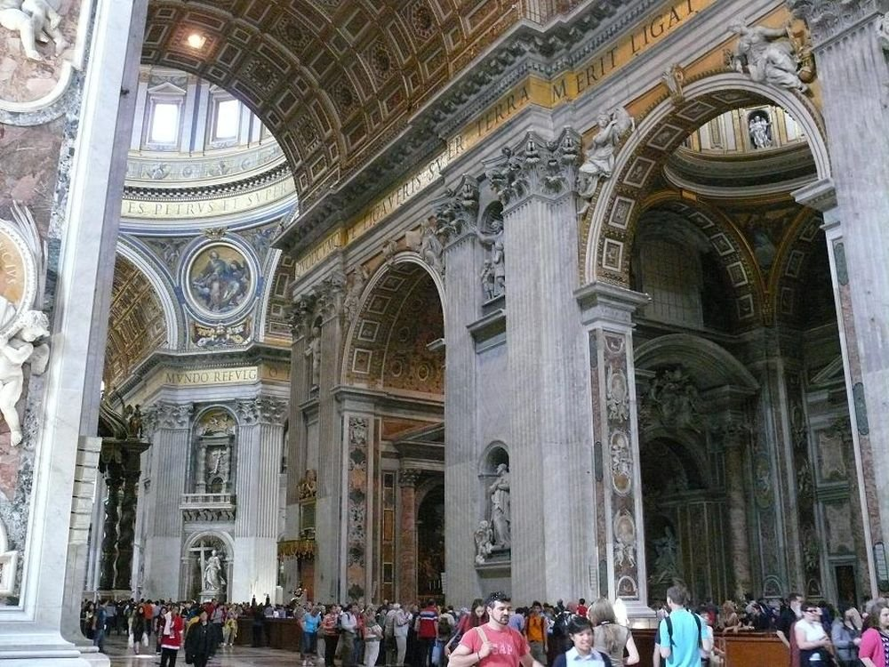 Музеи Ватикана и собор Св. Петра