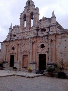 Монастырь Аркади — деревня Апостоли — ущелье Святого Антониса
