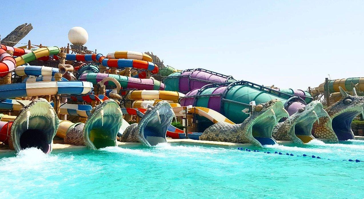 Аквапарк Yas Waterworld в Абу Даби