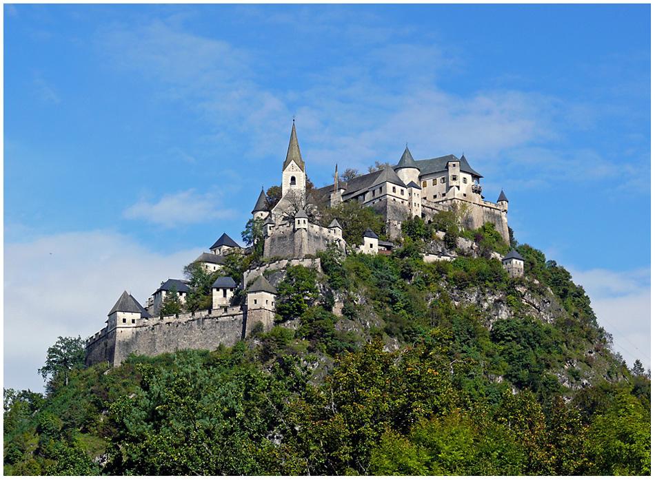 Сказочный замок в Каринтии — Хохостервиц