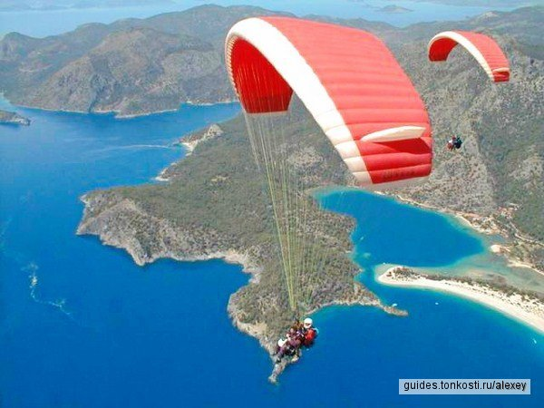 Параглайдинг: полет над Будвой с инструктором