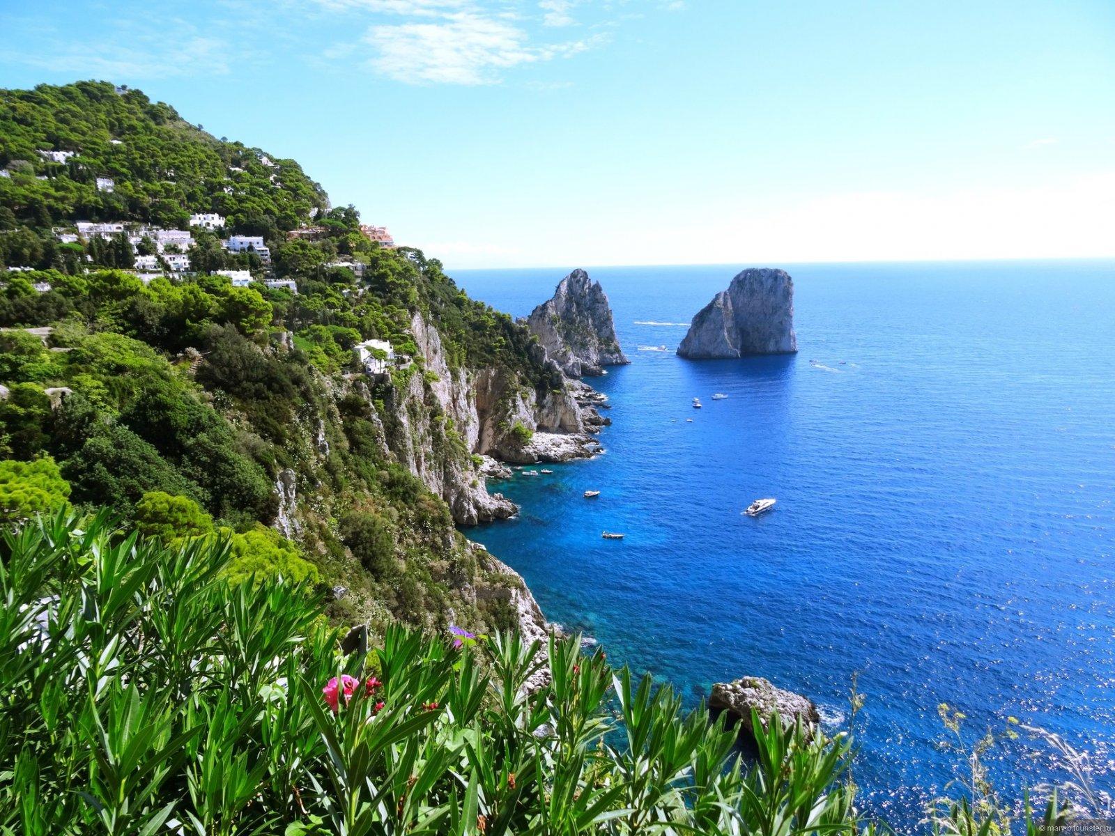 Остров Капри — райский уголок Средиземноморья