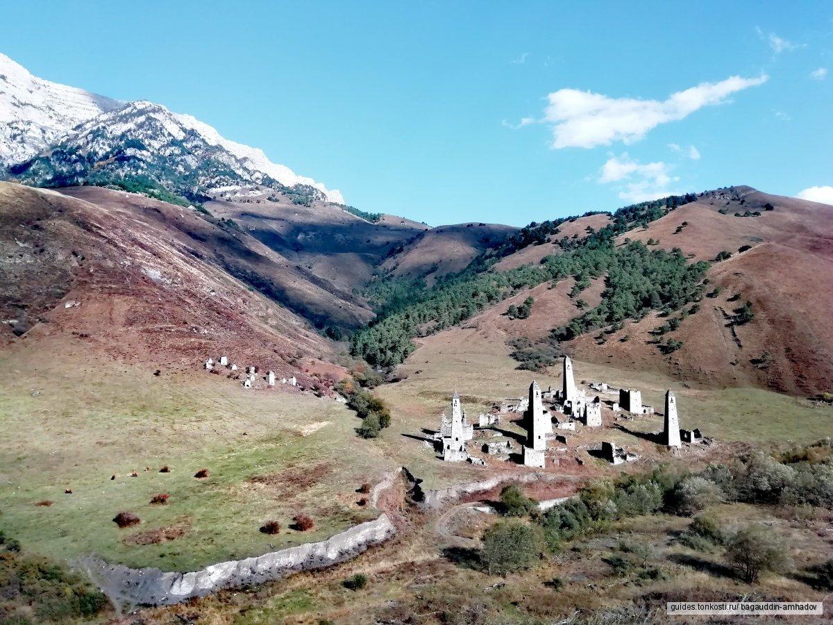 Красоты Кавказа: «Горная Ингушетия — Страна башен и легенд»