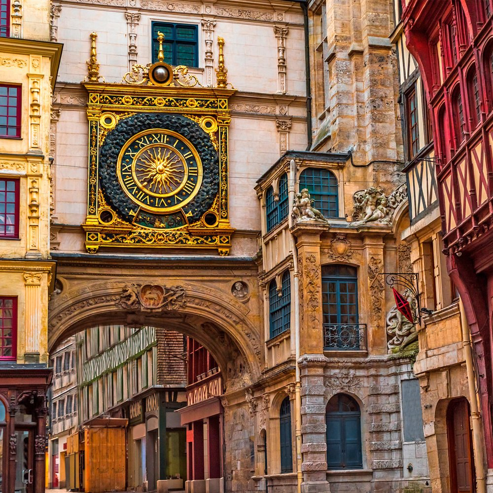 Руан - средневековые врата в Нормандию