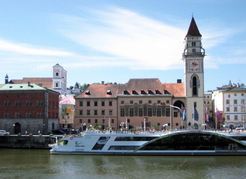 Пассау — город трех рек
