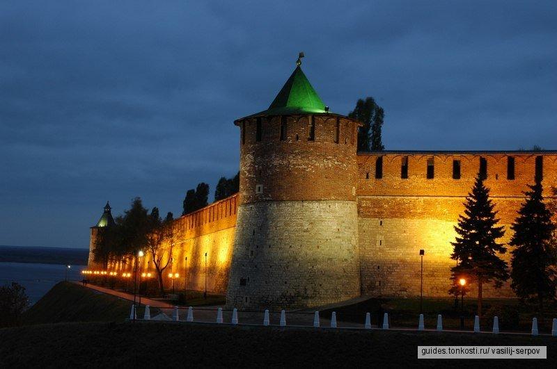 Обзорная по Нижнему Новгороду: пазл