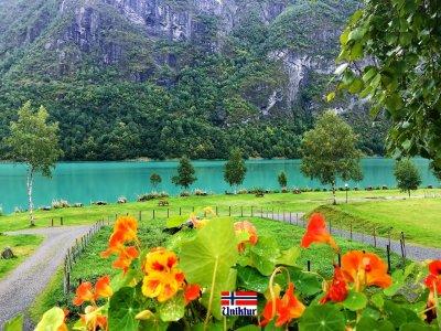 Отдых на фьордах Норвегии осенью