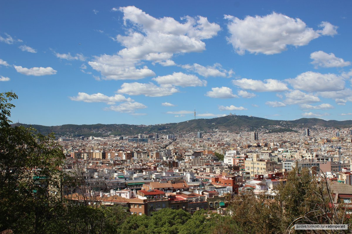 Большая обзорная фотоэкскурсия по Барселоне, все самое интересное за один день