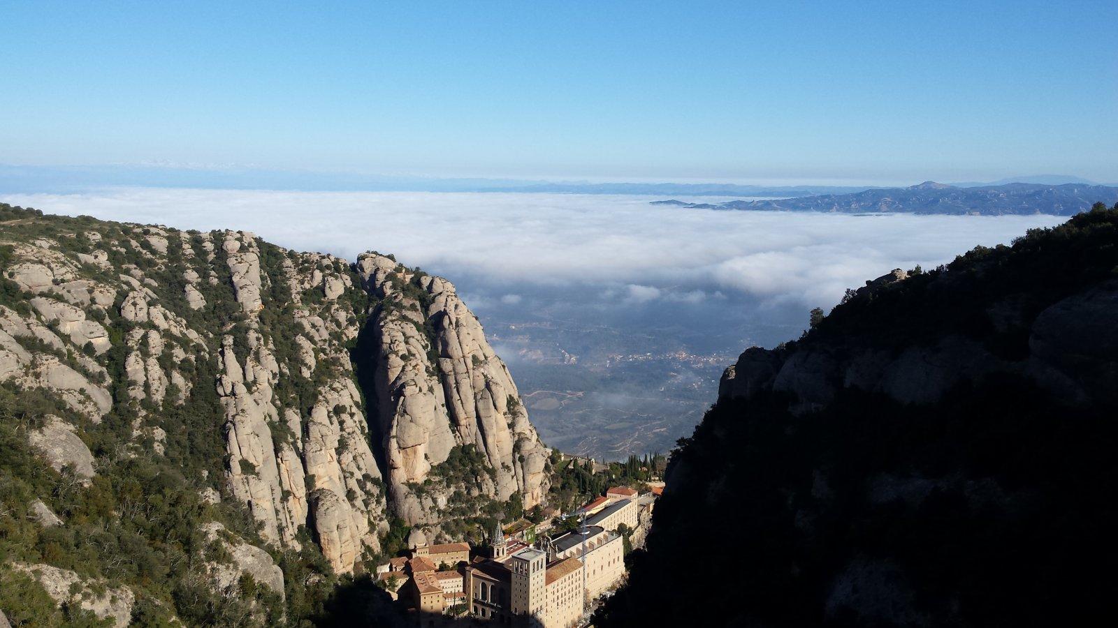 Монсеррат — мистическая гора