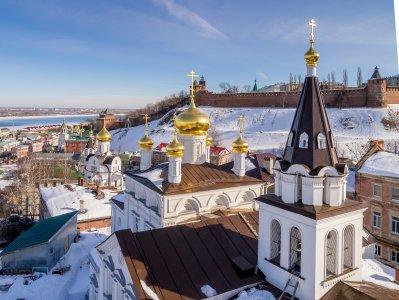 Прогулка по Нижнему Новгороду (автомобильно-пешеходная)