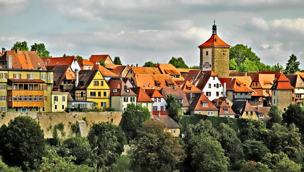 Романтическая дорога — Ротенбург-об-дер-Таубер и Ландсберг