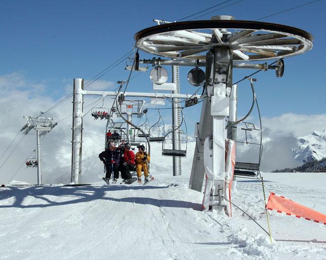 Ницца: отдых в горах и горные лыжи на Лазурном Берегу