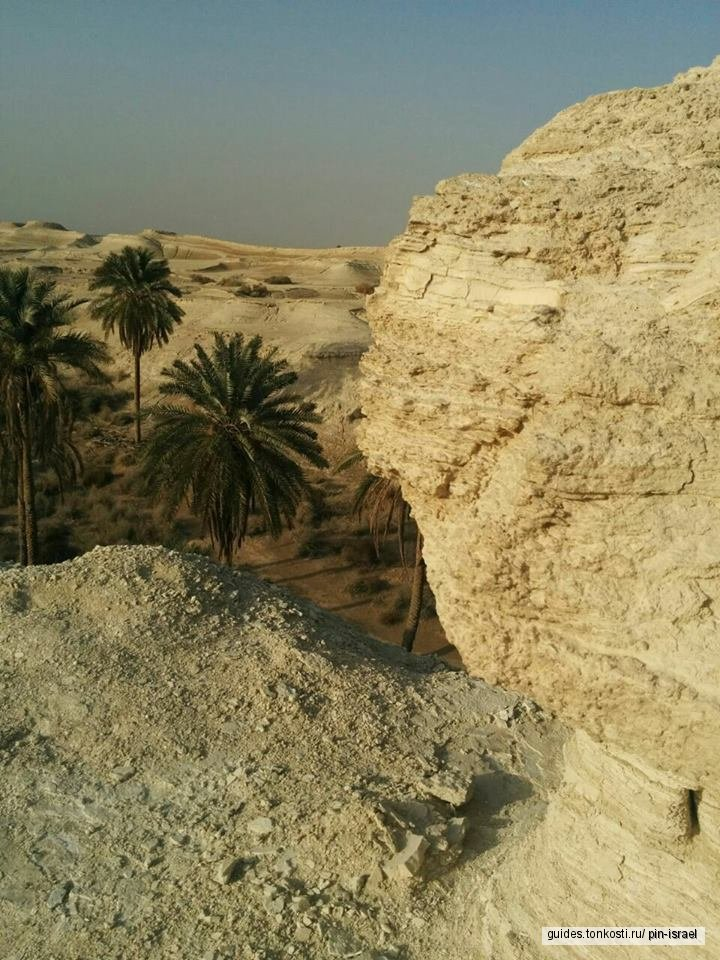 Пустыня Негев. Мицпе-Рамон