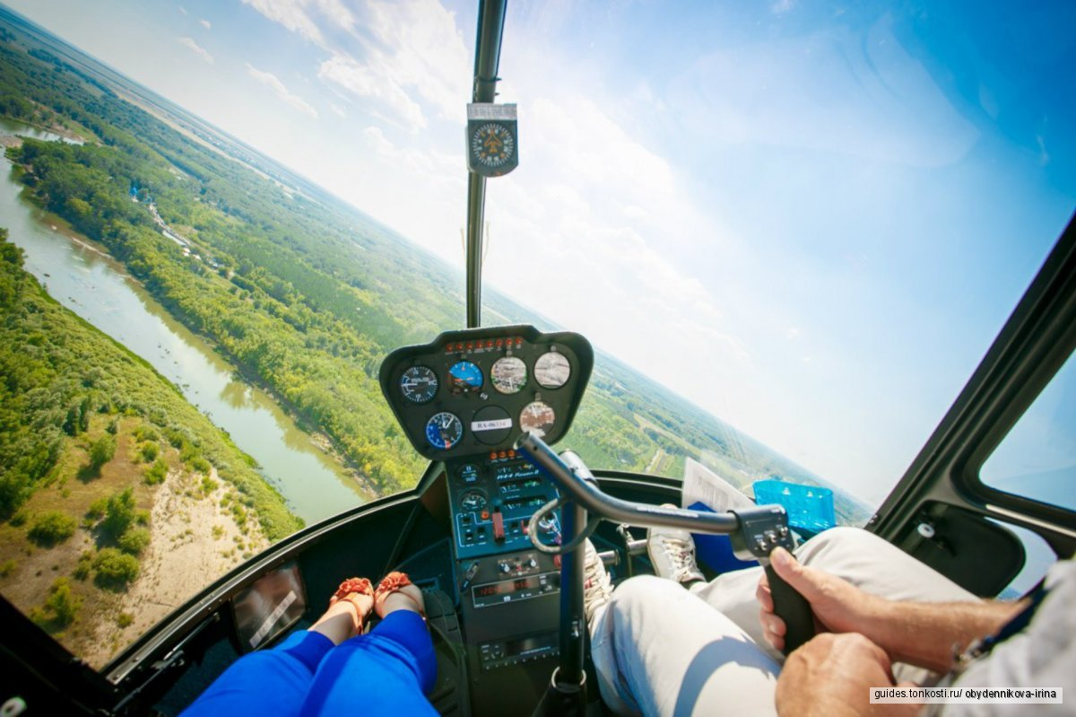 VIP-экскурсии на вертолете, катере, лимузине