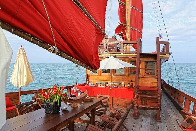 «Красный барон» — парусная яхта