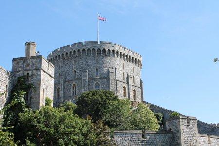 Замок Виндзор — жилая резиденция монархов