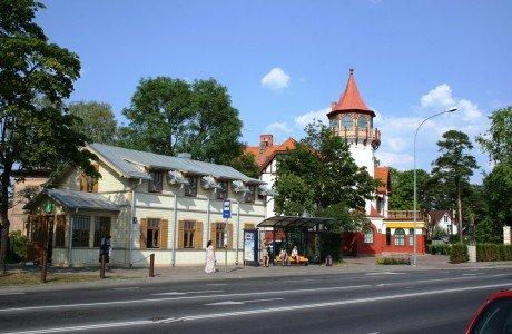 В Юрмалу из Риги