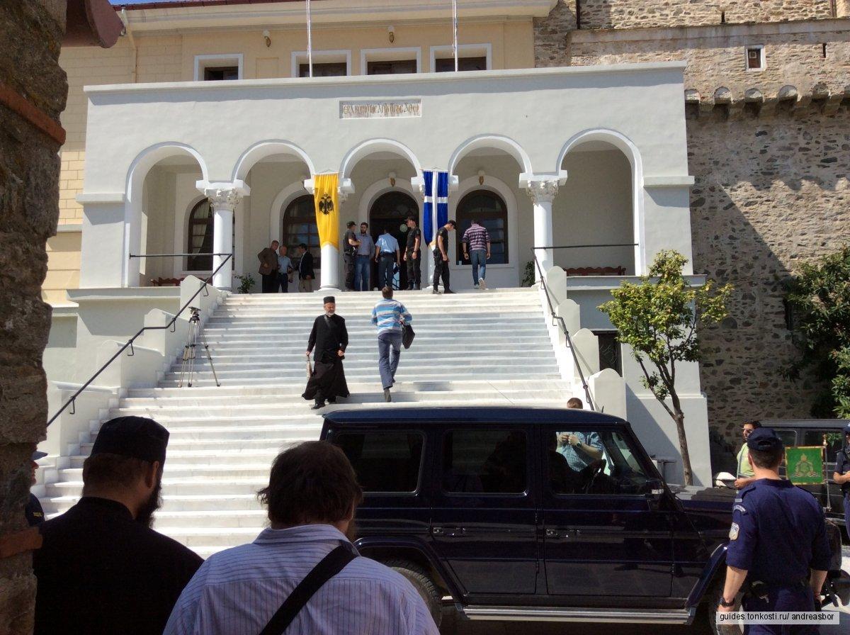 Поездки на джипе по монастырям Афона