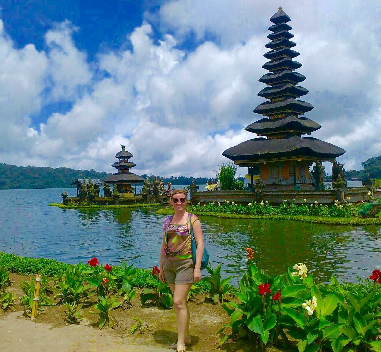 Озеро Братан, север Бали