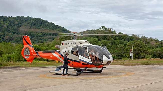 Аренда вертолета или самолета на Пхукете