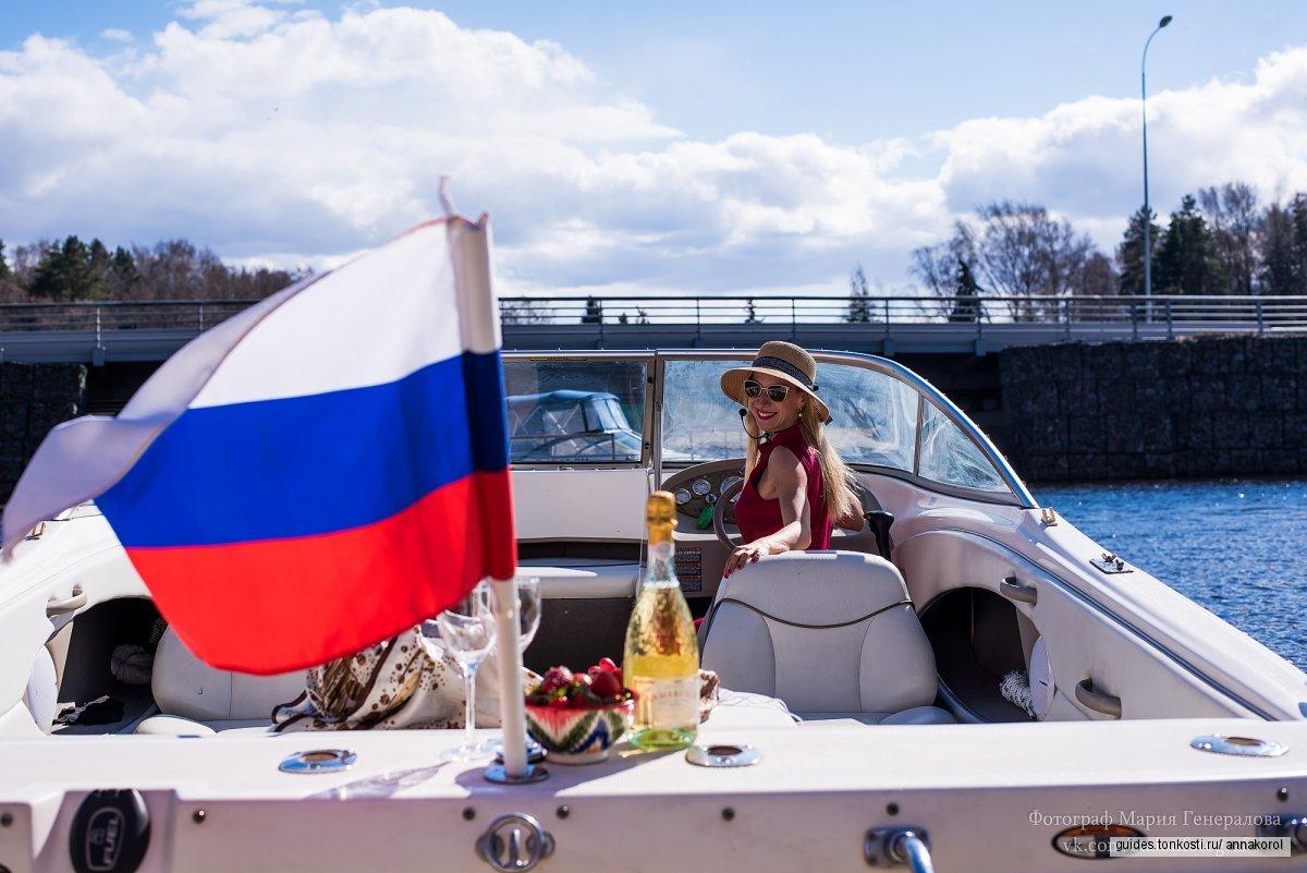 Вояж по Петербургу на скоростном катере