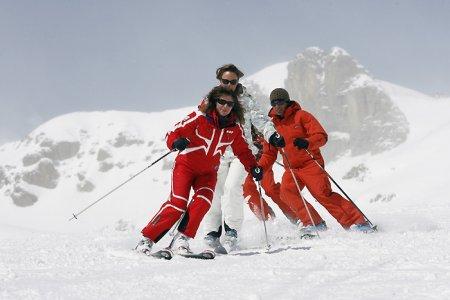 Инструктор по горным лыжам в Шамони