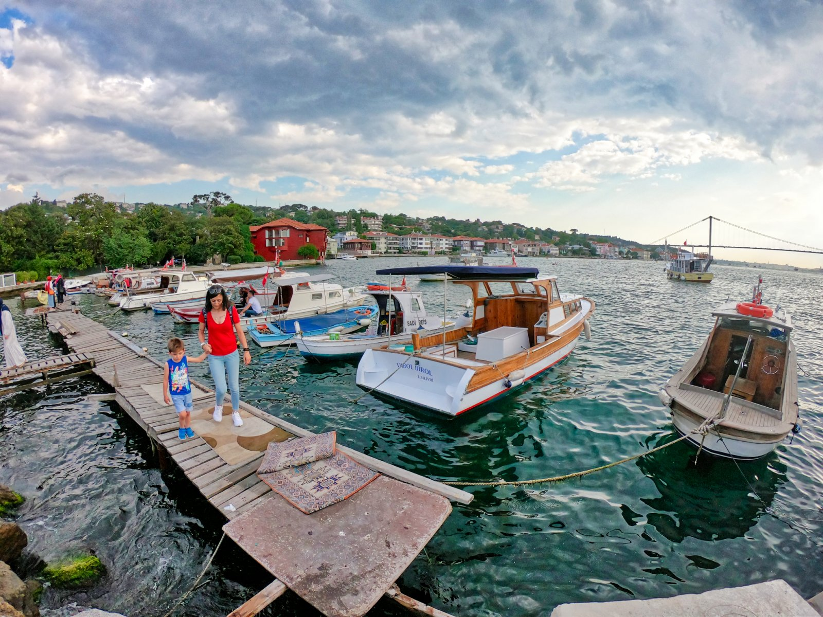 Вдоль Босфора по суше от Мраморного до Черного моря