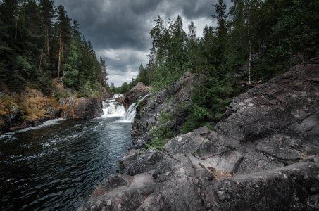 Курорт Марциальные воды и водопад Кивач