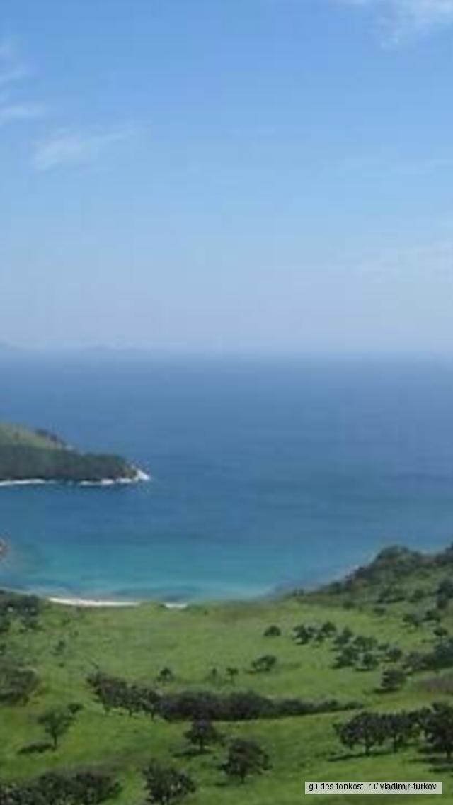 Обзорная экскурсия: остров Русский с посещением дикого пляжа (снорклинг: маска, трубка, ласты)