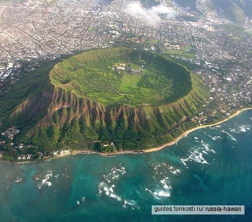 Вулкан и лучшие пляжи Оаху