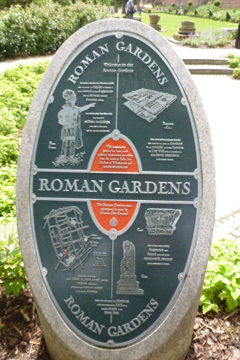 Честер — римский город за средневековой стеной