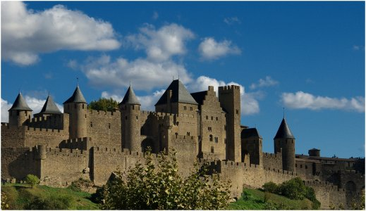 Замок Каркассон + устричные фермы (Франция)