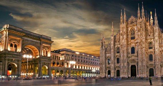 Милан — обзорная экскурсия по центру города на 2.5 часа