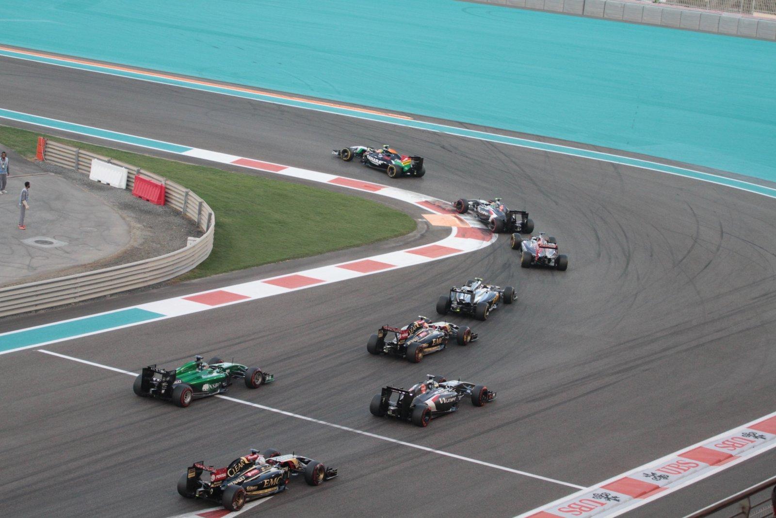 Гоночная трасса «Формулы-1»