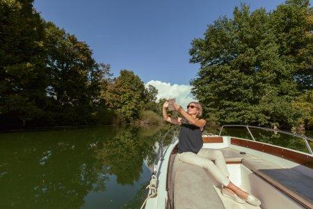 Индивидуальная прогулка на катере по реке Любляница