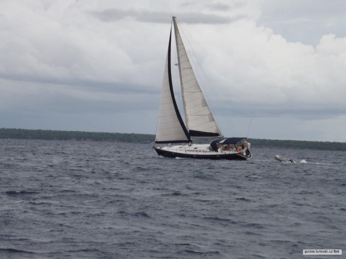 Морские круизы, яхтинг, рыбалка. Атлантика, Карибское море