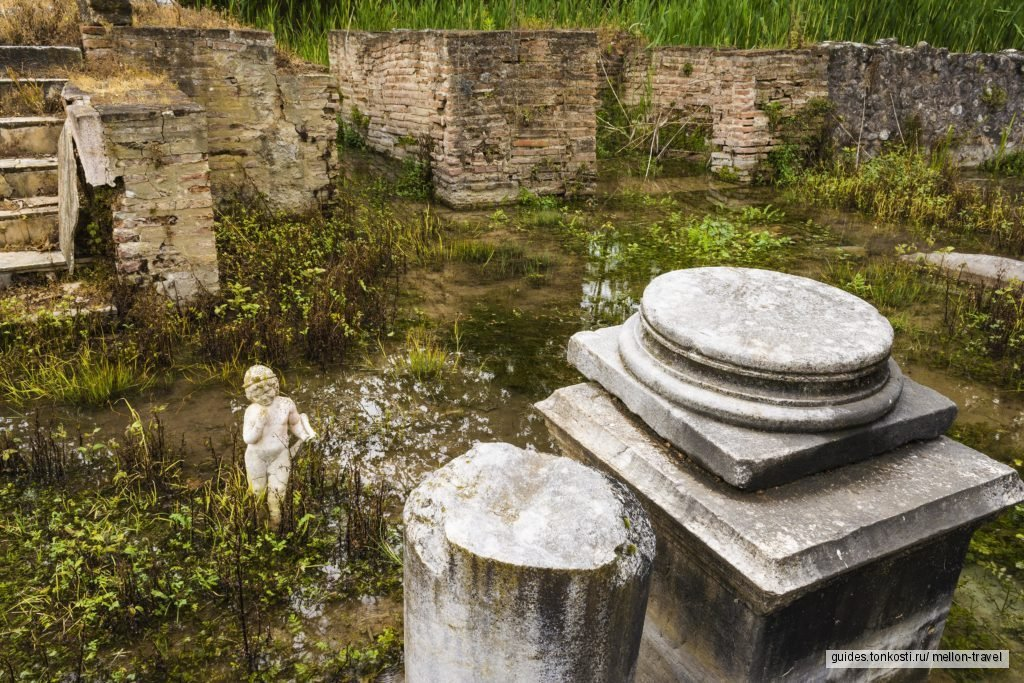Олимп — Дион  — замок Платамонас — деревня Палеос Пантелеймонас
