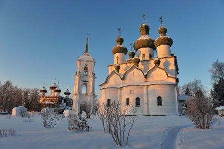 Рождество: Каргополь — Великий Устюг — Сольвычегодск — Тотьма