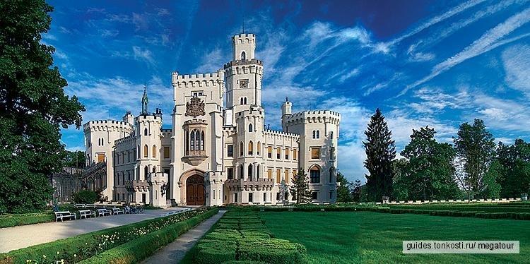 Экскурсия в Чески-Крумлов + замок Глубока-над-Влтавой