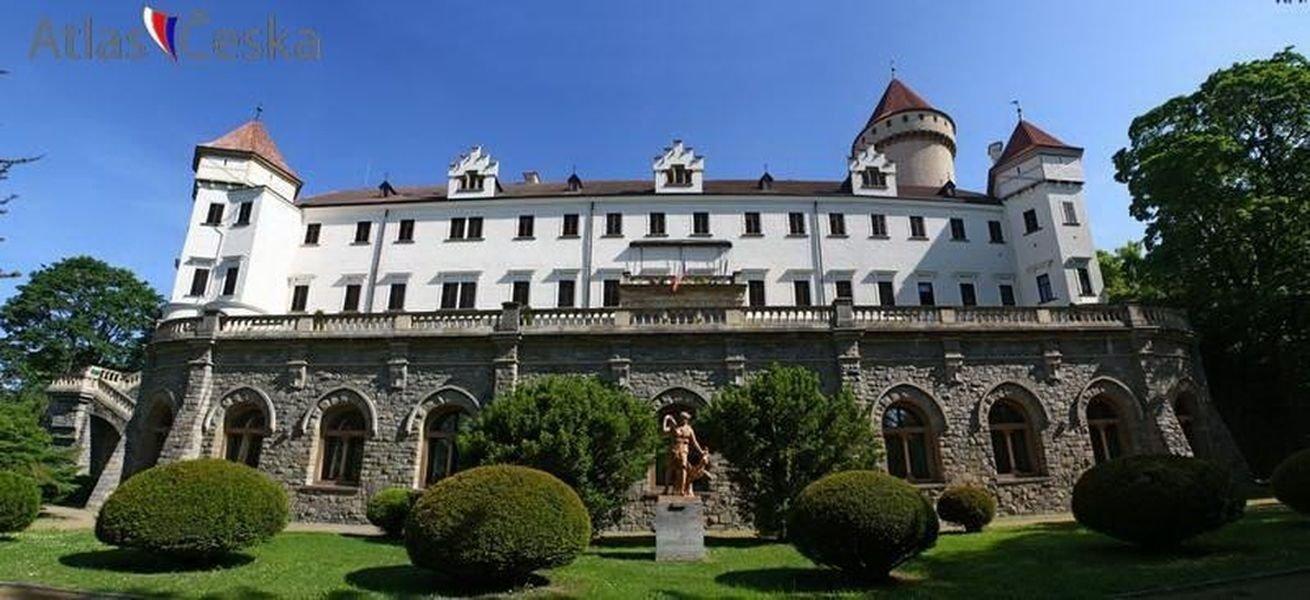 Из Праги в замок Конопиште