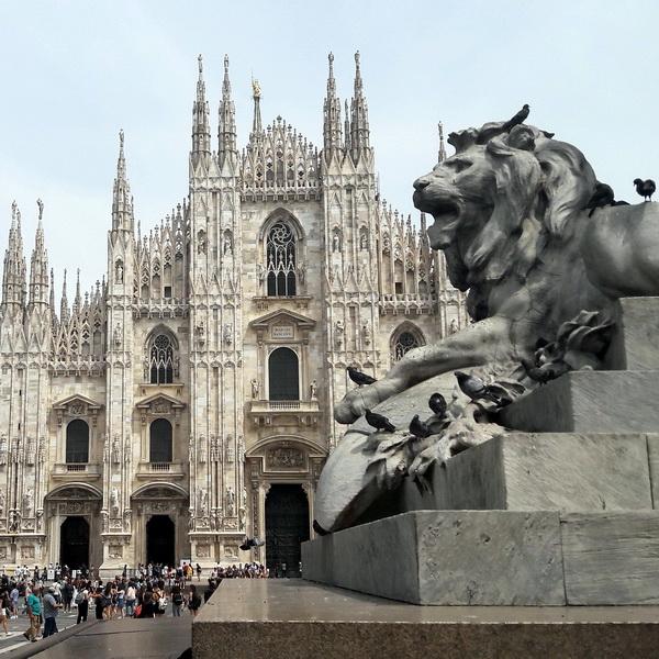Милан. Первое знакомство